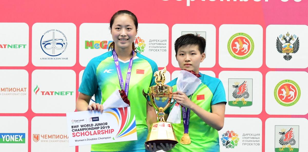 Lin Fang Ling Achieves Double – World Juniors: Finals