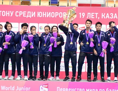 Historic First for Indonesia – Suhandinata Cup: Final