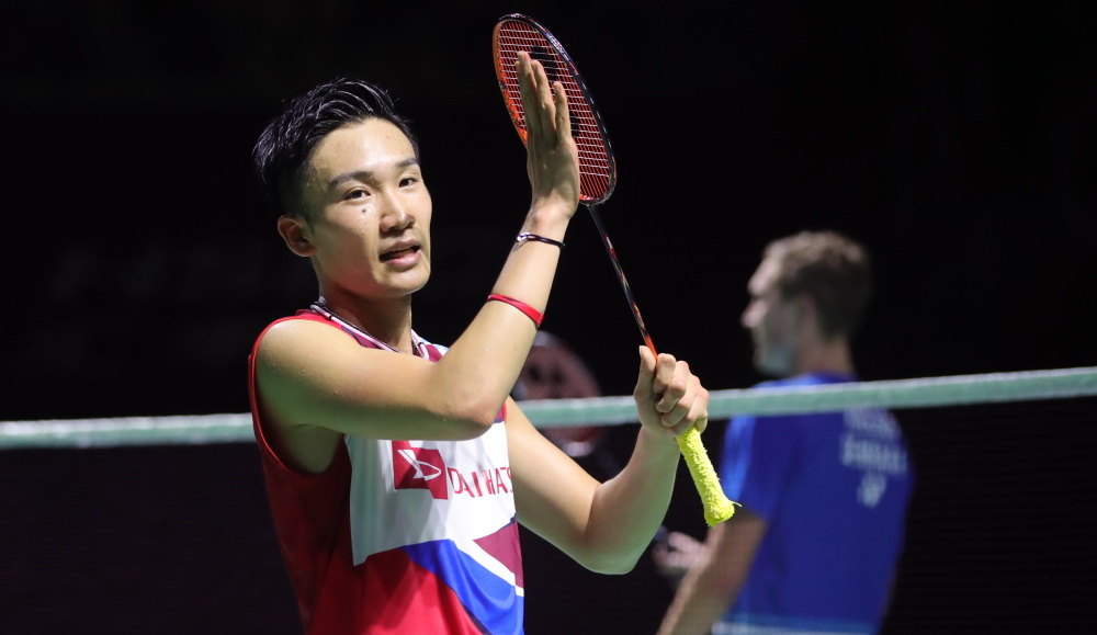 Momota Nominated for Laureus Award
