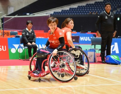 Double the Joy – Japan Para Badminton International 2019: Finals