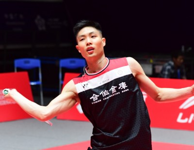 'My Inside Is Stronger Than My Outside' – Chou Tien Chen