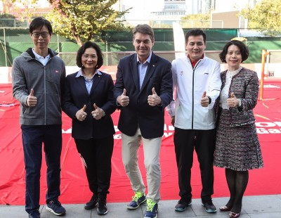 HSBC BWF AirBadminton Community Project Unveiled