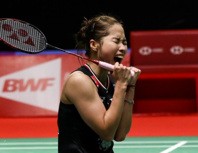 Intanon's Netplay Downs Marin – Indonesia Masters: Finals