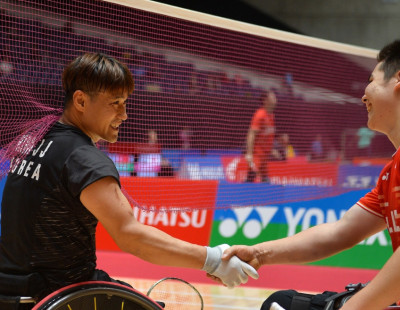 Para Badminton Tournaments Suspended