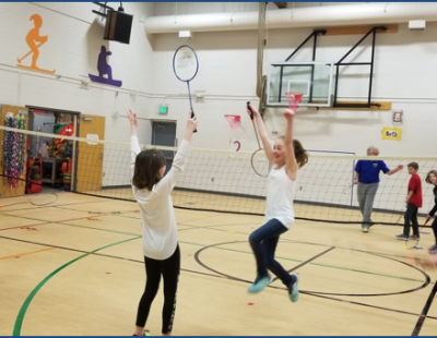 Icy Alaska Goes Wild for Badminton