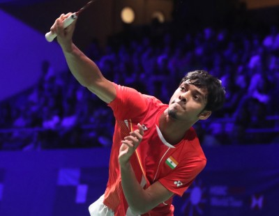 Chirag Trades Racketwork for Brushstrokes