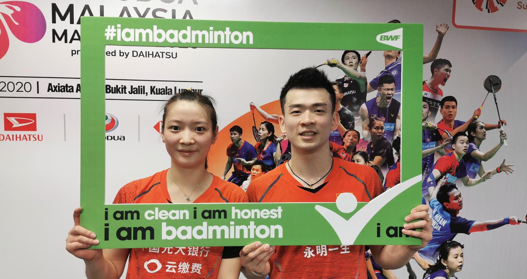 Zheng and Huang Embrace New Ambassador Role