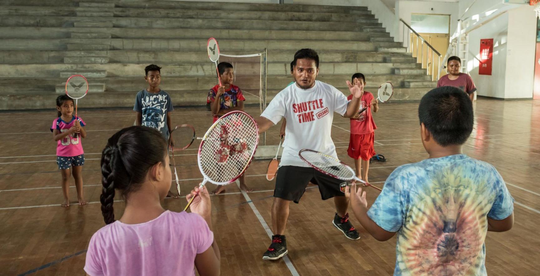 Kiribati, the Only Nation to Play Badminton Across All Hemispheres