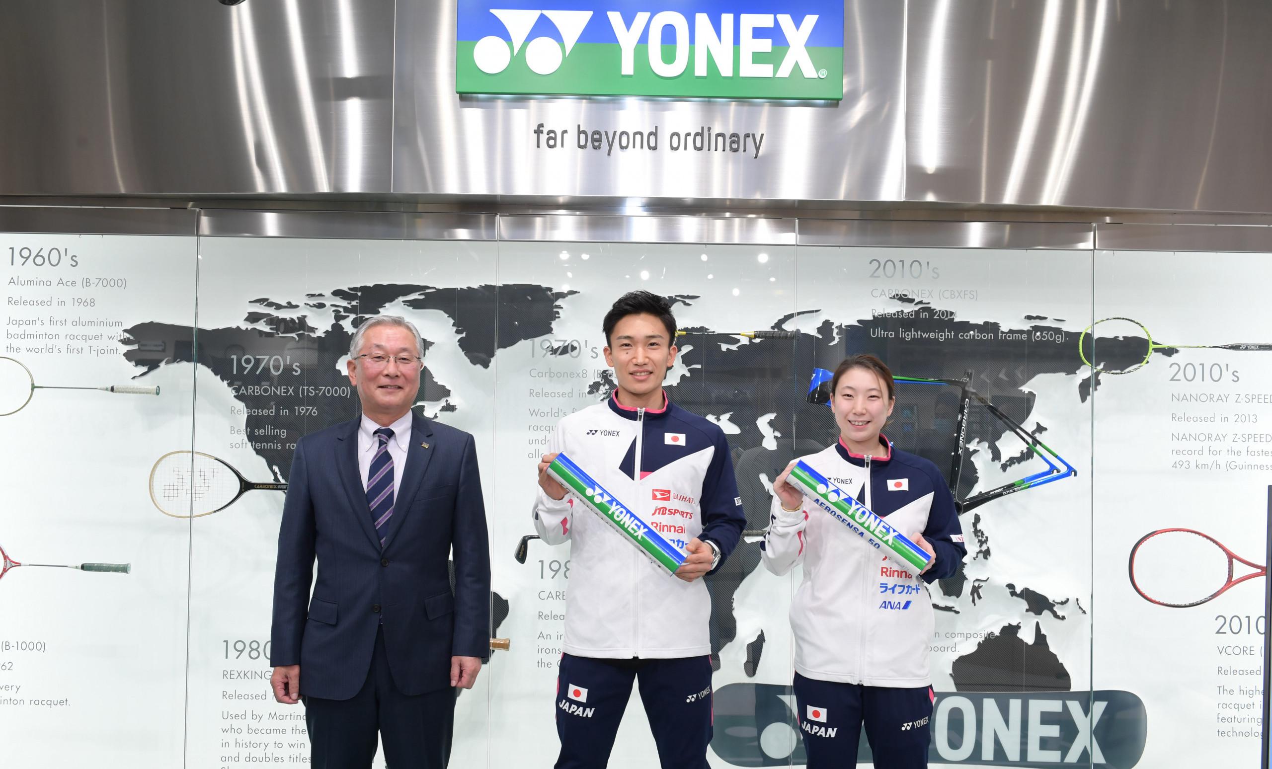 Yonex Named as Official Equipment Supplier of HSBC BWF World Tour Finals