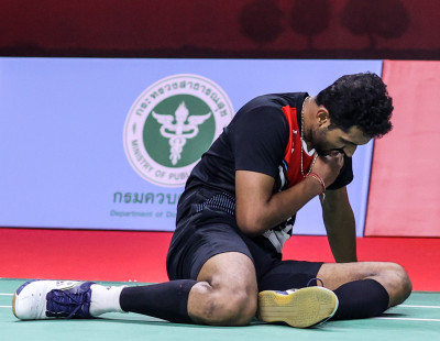 TOYOTA Thailand Open: Prannoy Fights Through Pain