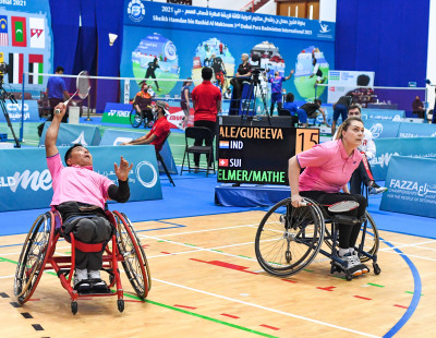 Dubai Para Badminton International: Communication Is Key in Doubles