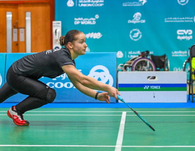 Dubai Para Badminton International: Kozyna Surprises World Champion