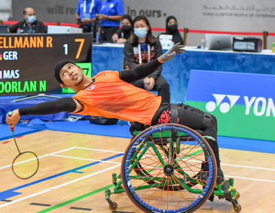 Dubai Para Badminton International: Lockdown Training Pays Off