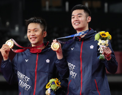 Lee/Wang Ensure Golden Day for Chinese Taipei