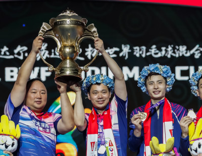 Sudirman Cup: Finland Face China in Opening Tie