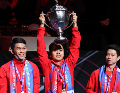 Indonesia's 19-Year Wait for Thomas Cup Ends