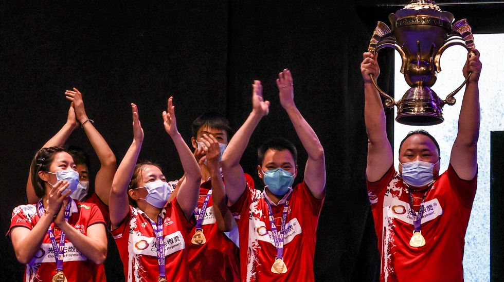 2021苏迪曼杯:中国队第12次夺冠